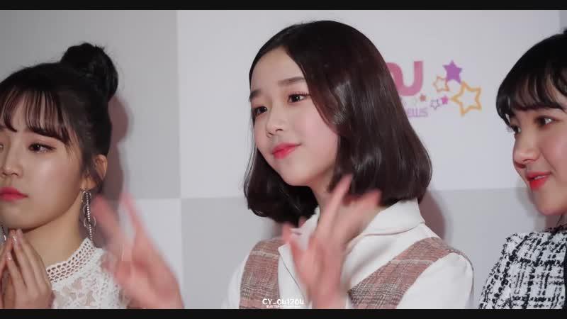 [4K 60P] 181128 버스터즈(Busters) 채연(ChaeYeon) - 포토타임 @ 대한민국문화연예대상 직캠(Fancam) by CY_041204