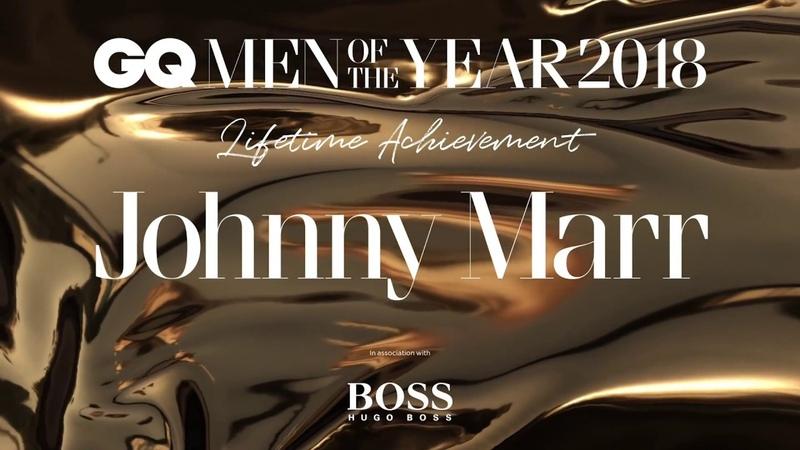 Johnny Marr wins Lifetime Achievement | GQ Awards 2018 | British GQ