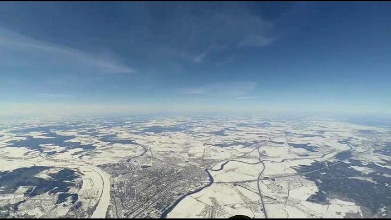 Видео 3. Перекрёсток древних дорог около села Рождественка