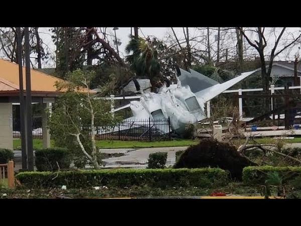 Ураган Майкл в США принес огромные разрушения Hurricane Michael in the United States