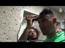 💈🏥👏 Keylor Navas's supportive haircut