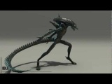 Alien - 3D Animation