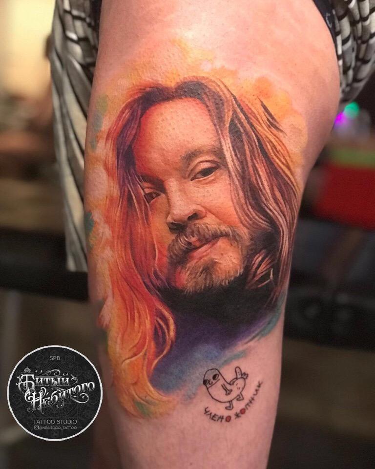 Самые всратые тату подписчиков Necro TV (61 фото)
