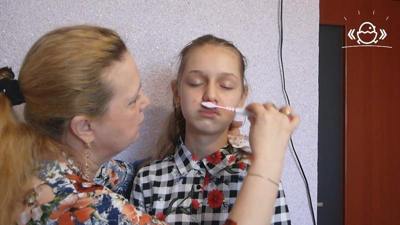 Логопедический массаж при дизартрии, ринолалии и задержках речевого развития. Видео 2.