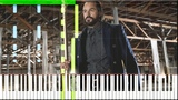 Vandal Savage Theme (OST Legends Of Tomorrow) Synthesia Piano Tutorial