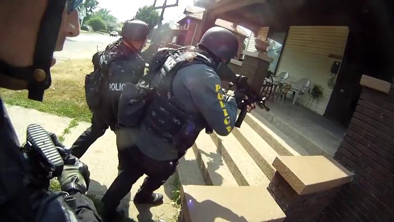 Helmet cam video evidence of 2012 SWAT raid