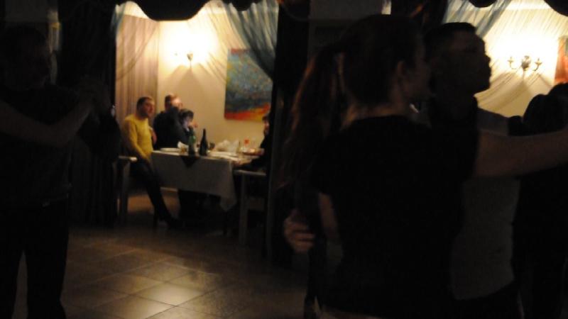 Мини мастер-класс Сергея Никитина на вечеринке после его семинара)), студия Вита, апрель 2016