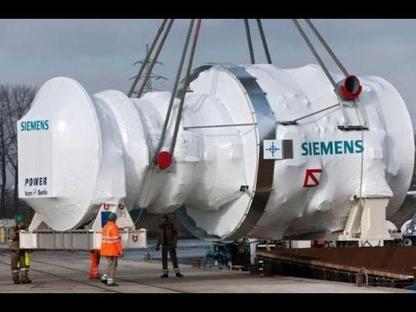 В Крыму сгорели турбины Siemens