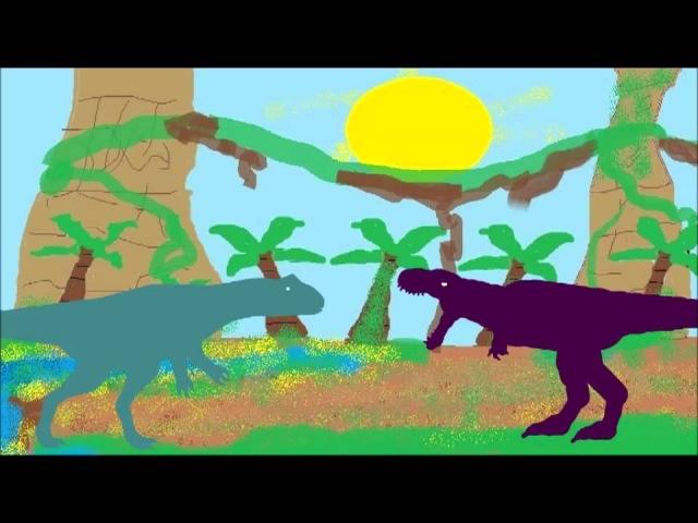Торвозавр против заурофаганакса