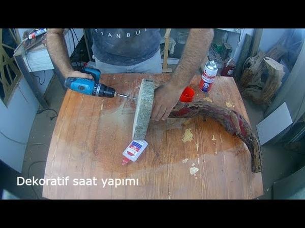 AHŞAP SAAT YAPIMI wooden clockwork
