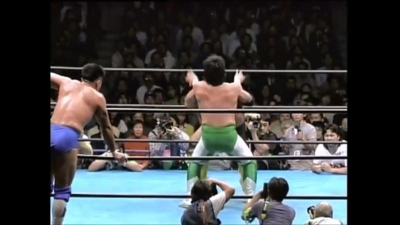 1996.12.06 - Akira Taue-Toshiaki Kawada vs. Jun Akiyama-Mitsuharu Misawa (RWTL Finals)