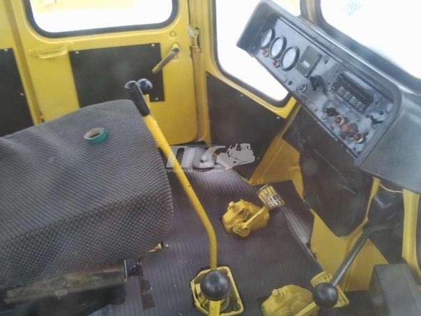 Внутри кабины Т-170