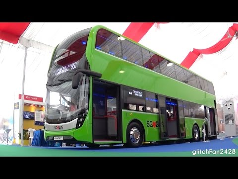 Singapore Lush Green Concept Buses - Detailed Look