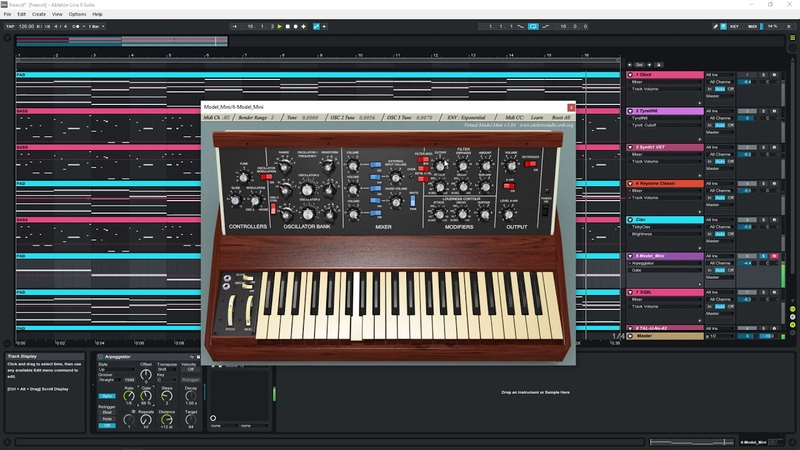 TOP 8 Free VST Synths 2019 OBXD Model Mini Tyrell N6 Synth1 SQ8L Funk Disco Style