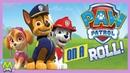 Щенячий Патруль Новые Приключения Paw Patrol On a Roll Спасение Зайчиков Миссия Крепыша