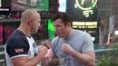 Fedor Emelianenko vs. Chael Sonnen Workout Staredown - MMA Fighting