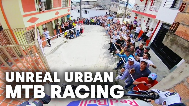 Marcelo Gutierrez's POV As He Unleashes At Downhill Urbano De Manizales