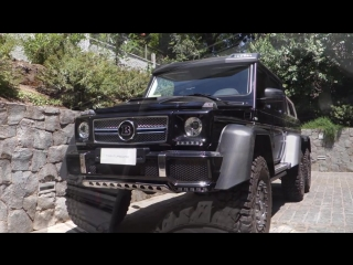 Brabus 700 6x6 - Onboard, Acceleration, Revs and MORE