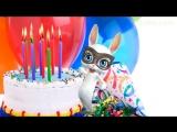 [v-s.mobi]Zoobe Зайка С днём рождения, подруга!!! Зажигательное поздравление