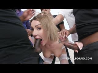 Elen million (waka waka blacks are coming elen gets 5 bbc balls deep anal,dap,gapes,creampie,facial gio995)[2019,gangbang,720p]