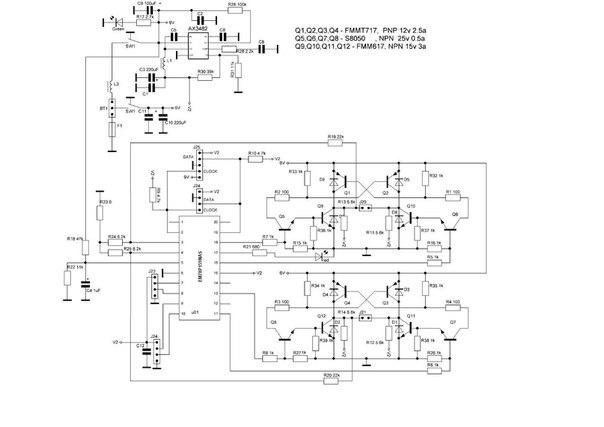 схема контроллера моторов