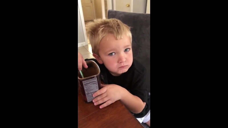 какао-порошок без сахара, реакция