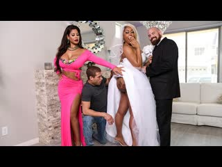 Bridgette b, moriah mills moriahs wedding shower (threesome, big ass, big tits, blonde, blowjob, brunette, ebony, tatoo)