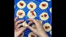 Завтрак • Вареники с клубникой
