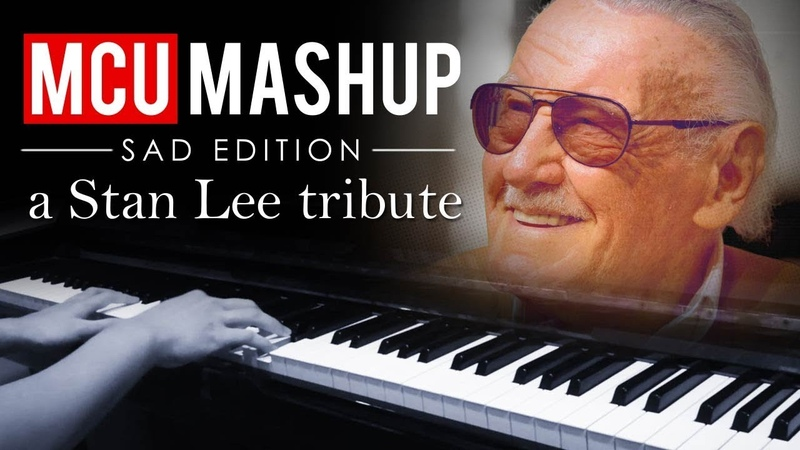 A Stan Lee Tribute Marvel Cinematic Universe Piano Mashup Medley but sad Piano Cover