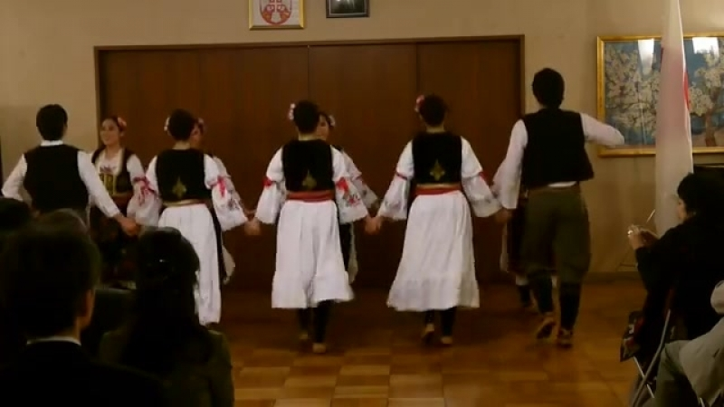 Japanci igraju srpska kola - YouTube (360p)