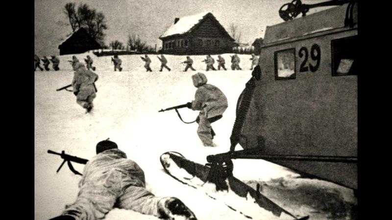 Можайский десант с бреющего полёта без парашютов на немецкие танки