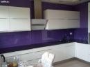 фото 2014 Кухни белые, красные, фиолетовые, розовые, зелёные, оранжевые фасады