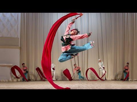 ГААНТ имени Игоря Моисеева. Китайский танец с лентами.