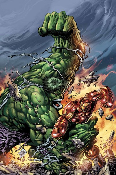 Халк против Железного человека Видео