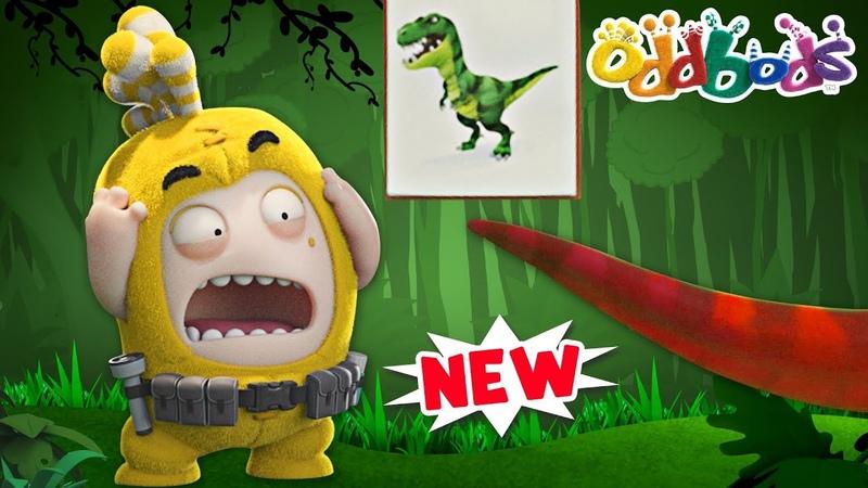Oddbods Jurassic Dinosaur Park NEW Funny Cartoons For Kids