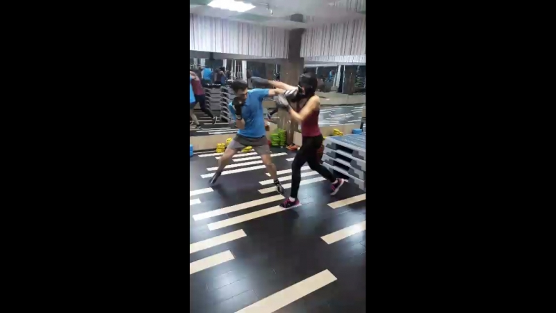 Спарринг в фитнес-клубе FitОстров на Калужской!