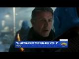 Отрывок из фильма «Стражи Галактики: Часть 2» с Сильвестром Сталлоне