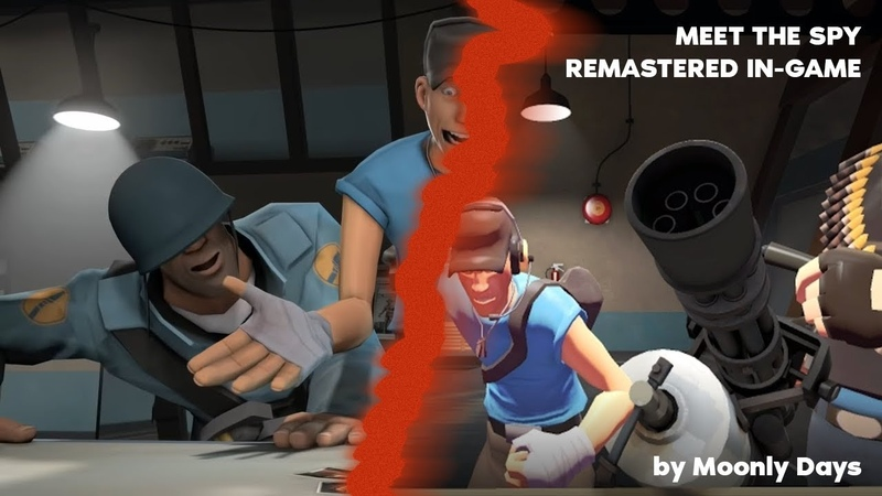 Meet The Spy Remastered in-game [TF2 Machinima]
