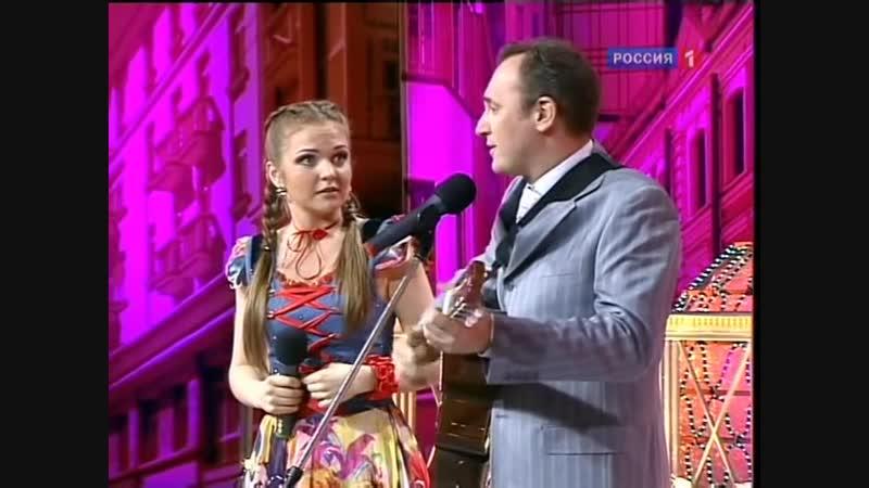 Марина Девятова и Святослав Ещенко (Музыкальный спор)