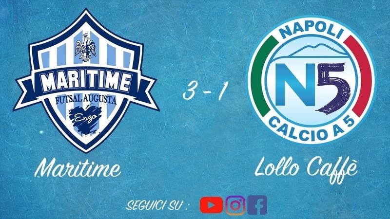 Italy League - Round 3 - Maritime Futsal Augusta 3x1 Lollo Caffè Napoli