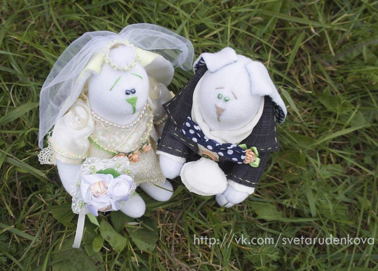 заяц-тильда на свадьбу
