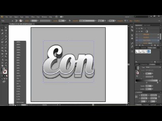 How To Make Good Looking 3D Text In Adobe Illustrator CS6!