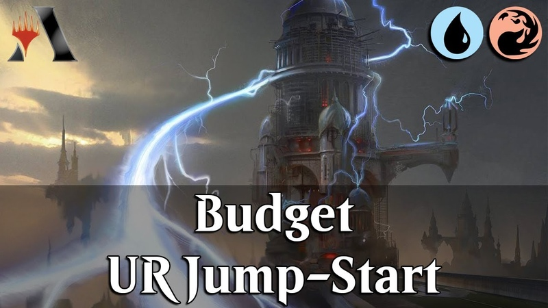 MTG Arena GRN | Izzet Jump-Start Budget DeckTech & Gameplay [Safety 1st]