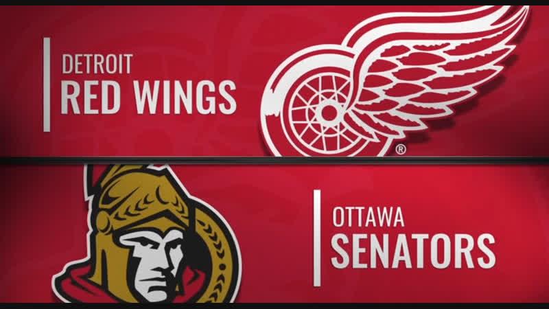 NHL Regular Season Season 2018-19 Detroit Red Wings-Ottawa Senators
