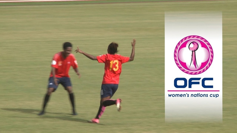 2018 OFC WOMENS NATIONS CUP | GROUP A HIGHLIGHTS | Papua New Guinea v Tahiti