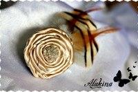 Заколка Lady / Трепетные украшения Татьяны Алакиной: для романтических натур - авторский гламур, от 85 грн / Акции.