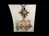 Немного релакса...😍😍😍😉 Комплект из японского бисера с драгоценным покрытием золота 24К и кристаллами Swarovski 🤗🌹🌹🌹 ➡️ К