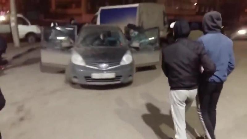 Пьяный водитель устроил погром Архангельск 20.04.2018.