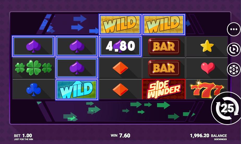 Игровые автоматы Side Winder