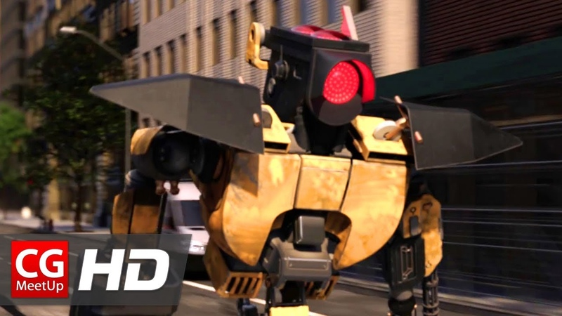 CGI VFX Animated Short Film: Angry Signal by ISART DIGITAL   CGMeetup